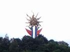 修復後の「若い太陽の塔」